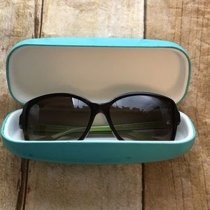 Kate Spade Ailey Tortoiseshell/Green Sunglasses